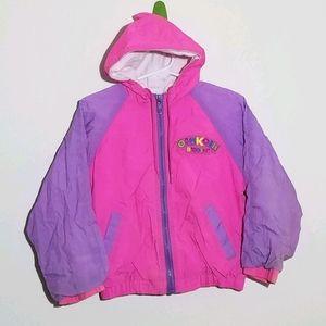 Vintage Oshkosh Windbreaker Raincoat Jacket S 4